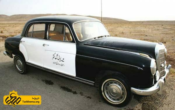 پلیس ایران و خودروهایش