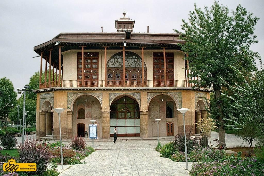 عمارت چهل ستون قزوین، محل استقرار دولت در زمان شاه تهماسپ و شاه اسماعیل دوم صفوی
