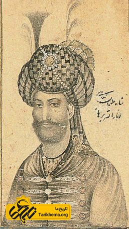 نگاره شاه طهماسب یکم