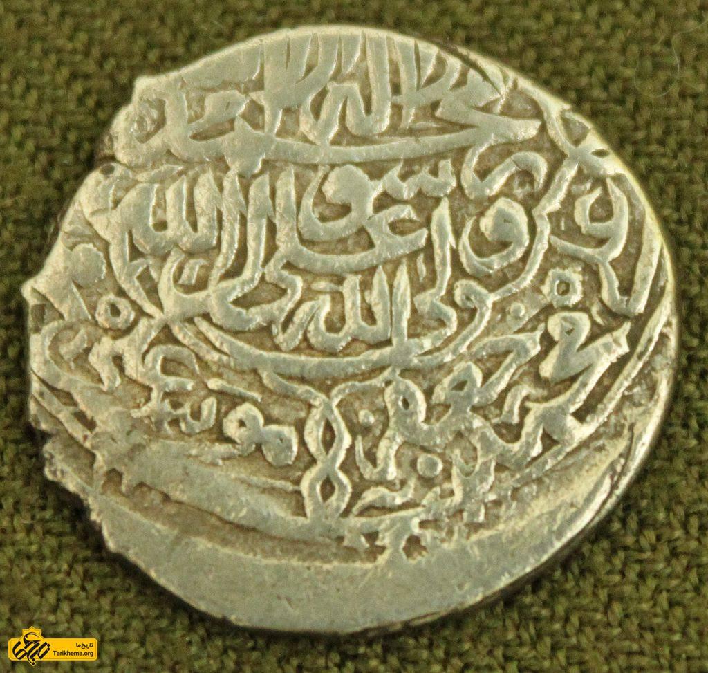 سکه مربوط به دوران شاه محمد خدابنده 1577