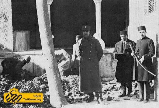 نبش قبر کریم خان زند