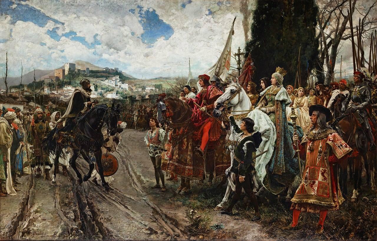 تسلیم شدن آخرین سلطان به نیروهای کاستیا و آراگون