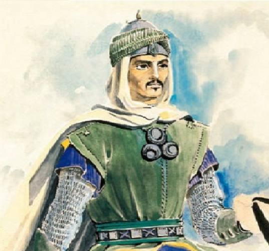نگاره ای از  السلطان قلاوون