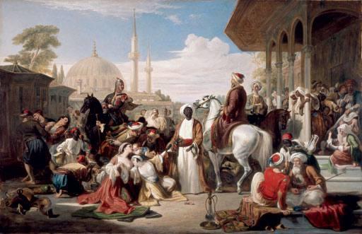 نمونه ای از بازار برده ها در ممالیک