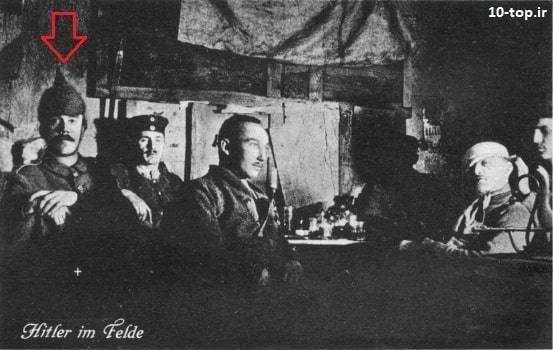 هیتلر در جنگ جهانی اول