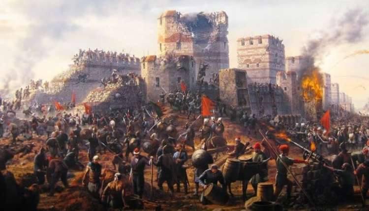 محاصره ی قسطنطنیه