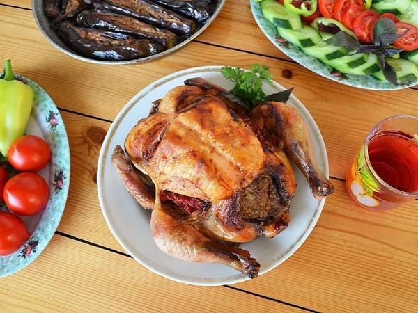 لیست خوشمزه ترین غذاهای باکو