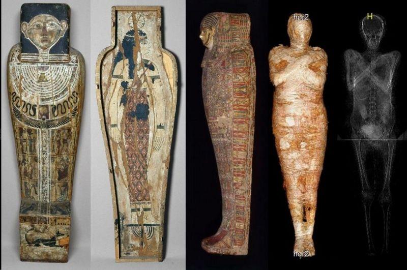 مومیایی زن مصری
