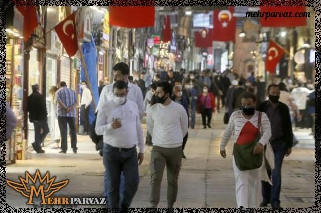 حضور گردشگران در ترکیه در دوران کرونا