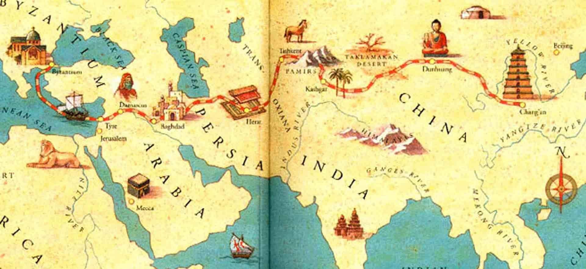 روابط ایران و چین قبل از اسلام