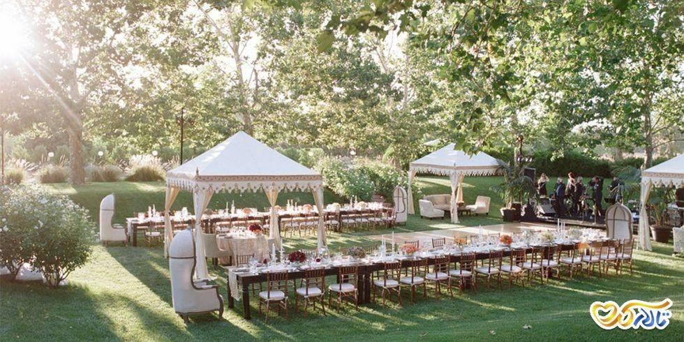 سالن عقد باغ عروسی