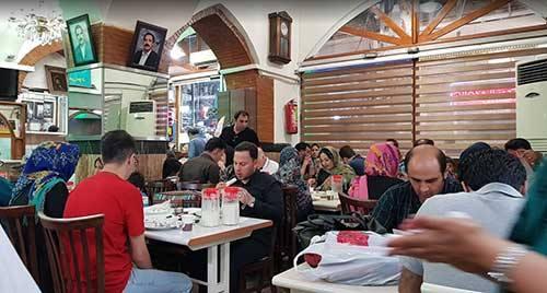 رستوران های تبریز