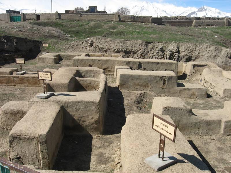 محوطه باستانی هگمتانه