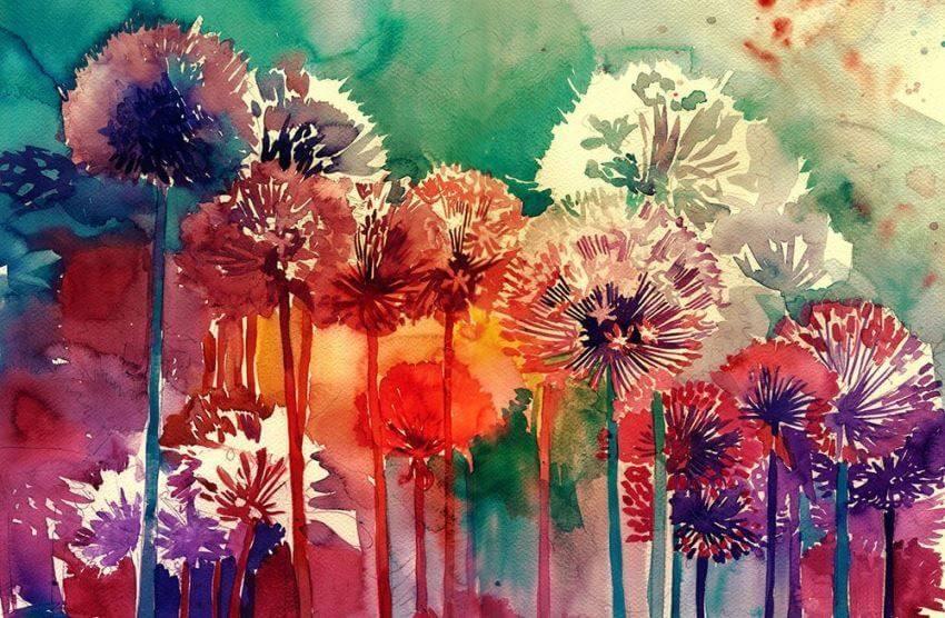 آثار هنری با پیگمنت رنگی