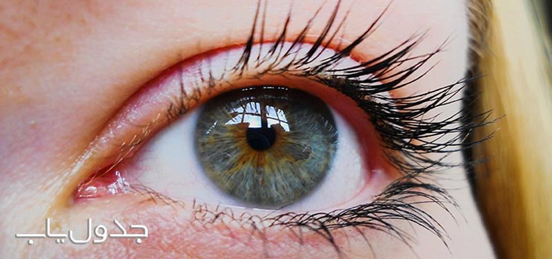 دلیل رنگ آبی در بعضی از چشم ها