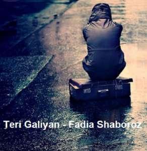 دانلود آهنگ هندی Teri Galiyan از Fadia Shaboroz