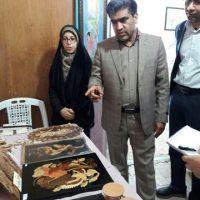 برپایی نمایشگاه صنایعدستی در شهرستان فسا