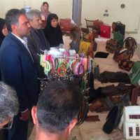 برپایی نمایشگاه صنایعدستی در شهرستان قروه
