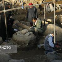 کشف ۲ تدفین مربوط به دوره عصر آهن در میدان امام همدان