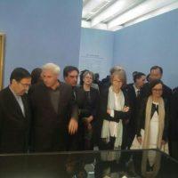 نمایشگاه شاهکارهای هنر پارسی افتتاح شد