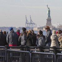 مجسمه آزادی به روی بازدیدکنندگان بسته شد