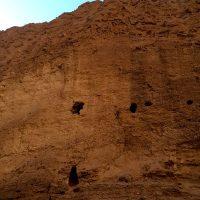 طبسی ها سالها پیش در صخره هم خانه ساخته اند