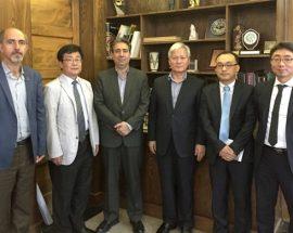 حضور رئیسموزه ملی کره جنوبی در موزه ملی ایران