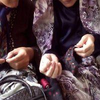 آیینهای ماندگار رمضان در همدان/دوخت کیسه «برکت» احیا شده است