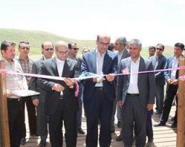 افتتاح مسیر دسترسی به مجموعه جهانی تختسلیمان