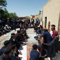 برگزاری آیین شاهنامهخوانی در روستای مشهد کاوه در استان اصفهان