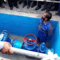 تامین آب ۴۰ روستای بشاگرد از سازه آبخیزداری کاهکن