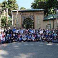 بازدید شرکتکنندگان المپیاد جهانی زیستشناسی از مجموعه سعدآباد
