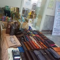 برپایی نمایشگاه صنایعدستی در ادارهکل امور مالیاتی استان قزوین