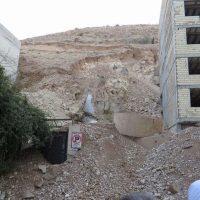ریزش کوه در شیراز رانش زمین بود/ پدیده ای از نوع«پر خطر»