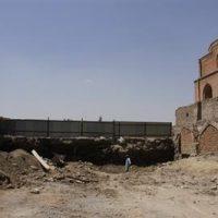 احیای شبستان ضلع شرقی مسجد جامع ارومیه