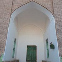 ایوان مسجدجامع خوسف در خراسان جنوبی مرمت شد