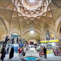 مرمت و بهسازی بخش هایی از بازار تاریخی اراک توسط راه و شهرسازی