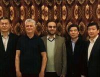 دیدار مدیر مجموعه نیاوران با رئیس اداره تبلیغات شهرداری بخش شرقی پکن