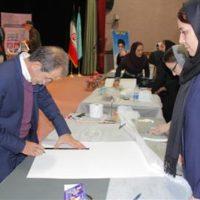 برگزاری دوره آموزش عملی رنگشناسی برای هنرمندان صنایعدستی آذربایجان غربی
