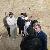 بازدید مدیركل میراثفرهنگی آذربایجان غربی از قلاتگاه ریکآباد اشنویه
