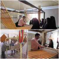 برگزاری دومین دوره آموزشی چادرشببافی در روستای محمدآباد آران و بیدگل