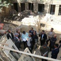 تسریع در اجرای عملیات مرمت آبانبار حوض معجردار و خانه امیری در مشهد