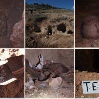 شناسایی ۳۳ دخمه در فصل سوم کاوش های محوطه باستانی وستمین