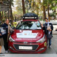 رالی «مادران روی چرخ ـ برای شفای دنیا» به تهران رسید