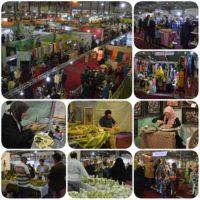 استقبال مردمی از در دومین روز نمایشگاه سراسری صنایعدستی یزد
