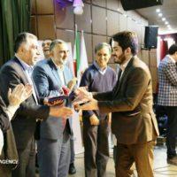 سازمان مردم نهاد فانوس خوزستان تجلیل شد