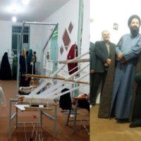 افتتاح یک کارگاه صنایعدستی در بیرجند