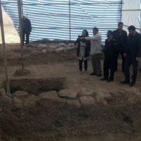 اجرای عملیات کاوش نجات بخشی آثار تاریخی در محدوده سد پیغام چایی