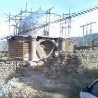 مقبره شیخ کشفالدین انصاری در خلخال مرمت میشود