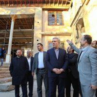 مونسان در بازدید از خانه تاریخی سرهنگ ایرج: میراث فرهنگی، مهمترین رکن در بازآفرینی شهری است
